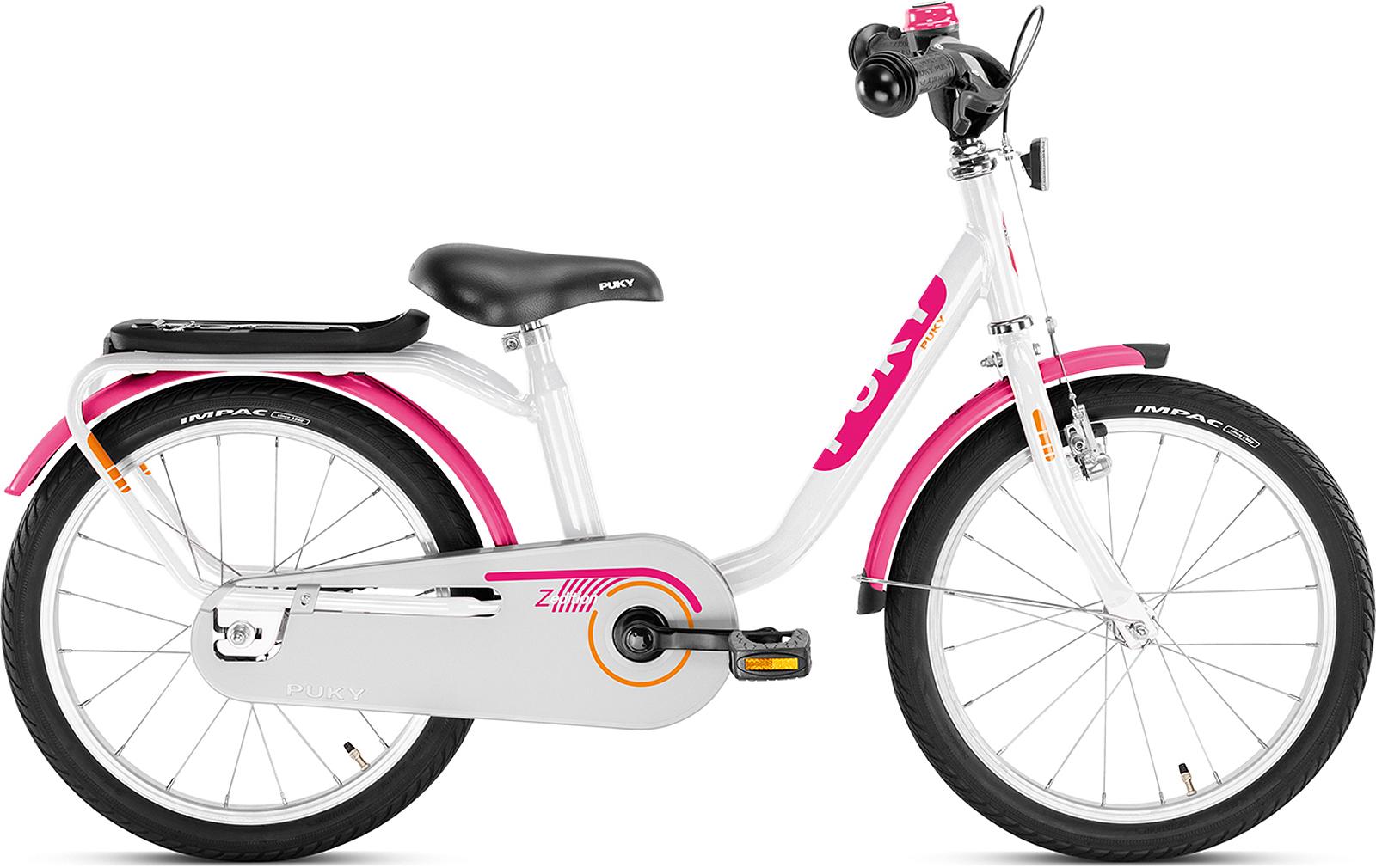 puky z 8 edition kinder fahrrad wei pink von top marken. Black Bedroom Furniture Sets. Home Design Ideas