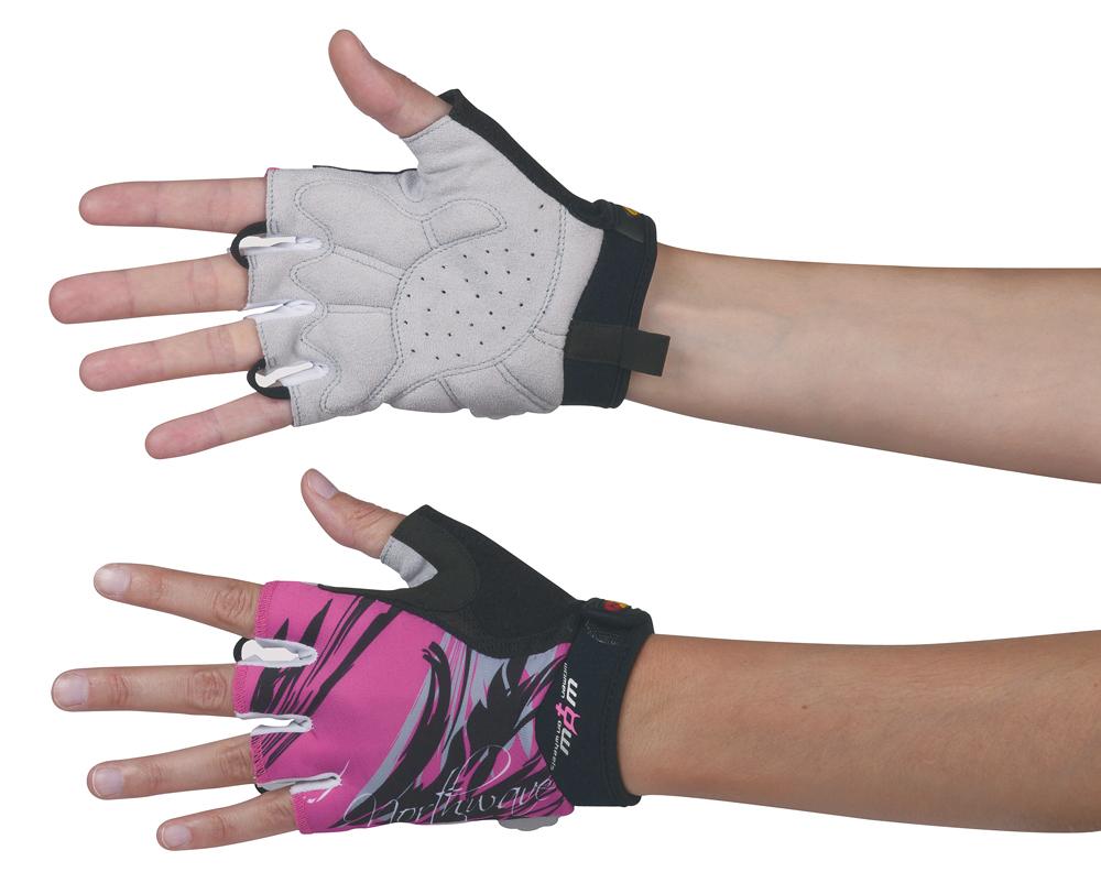 northwave crystal damen fahrrad handschuhe kurz pink. Black Bedroom Furniture Sets. Home Design Ideas
