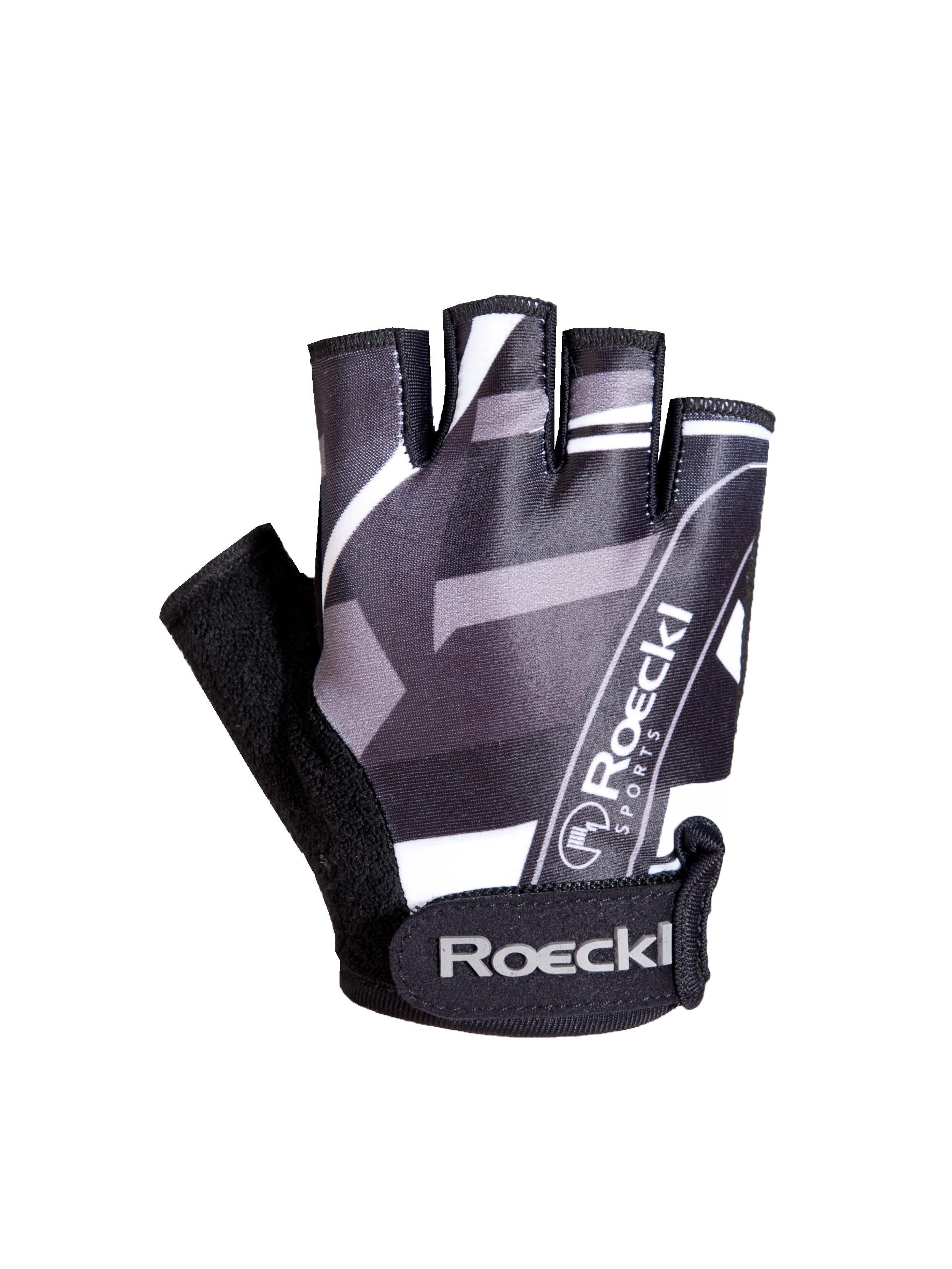 roeckl trava kinder fahrrad handschuhe kurz schwarz 2014. Black Bedroom Furniture Sets. Home Design Ideas
