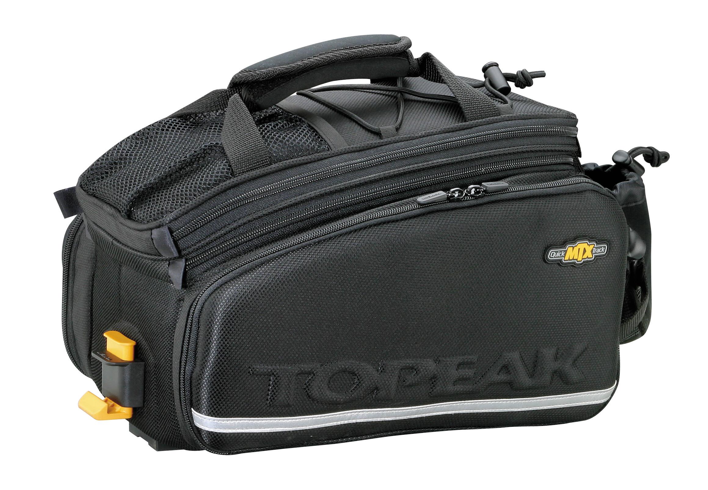 topeak mtx trunk bag tour dx fahrrad gep cktr ger tasche mit seitentaschen von top marken. Black Bedroom Furniture Sets. Home Design Ideas