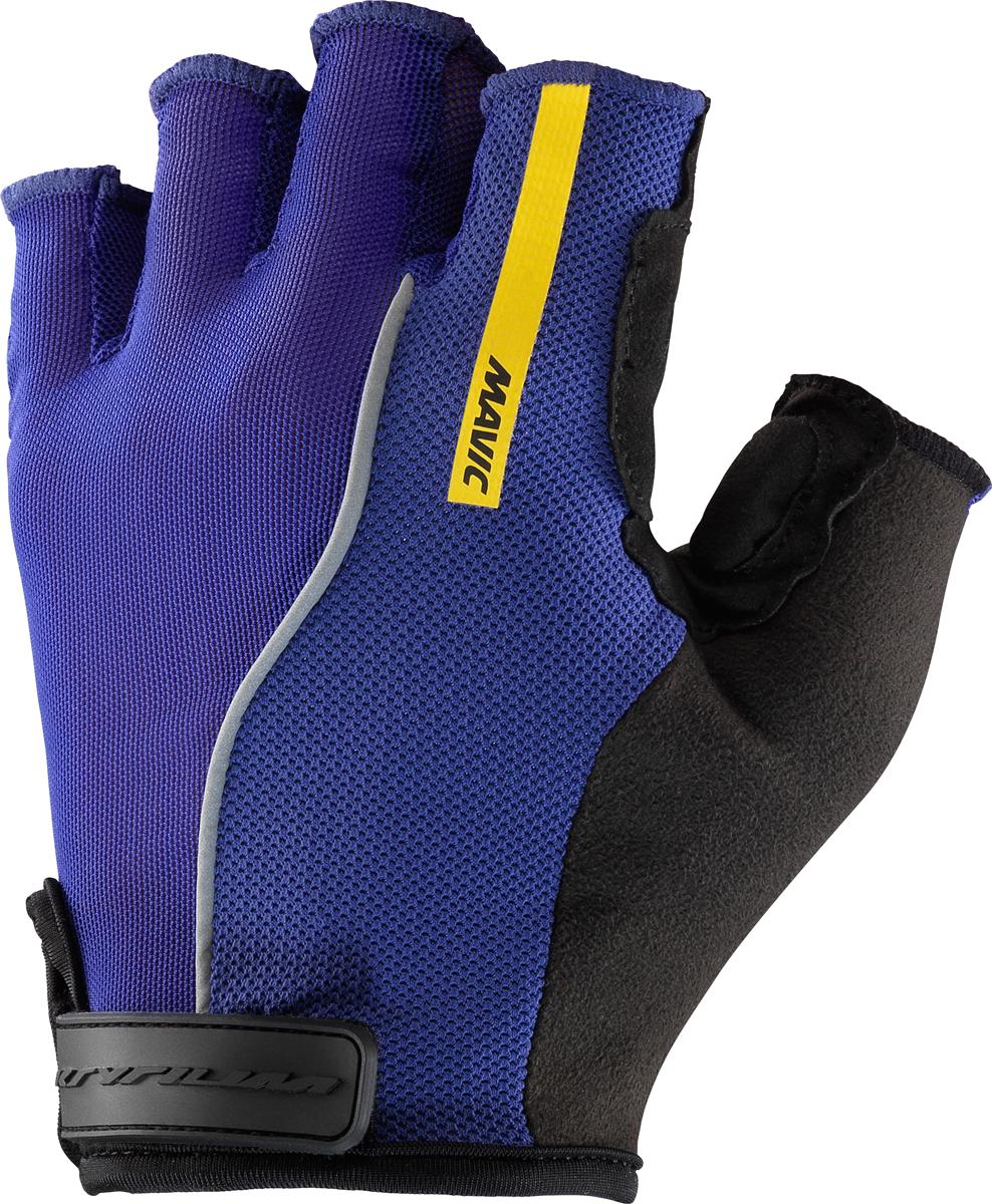 mavic ksyrium pro fahrrad handschuhe kurz blau schwarz. Black Bedroom Furniture Sets. Home Design Ideas