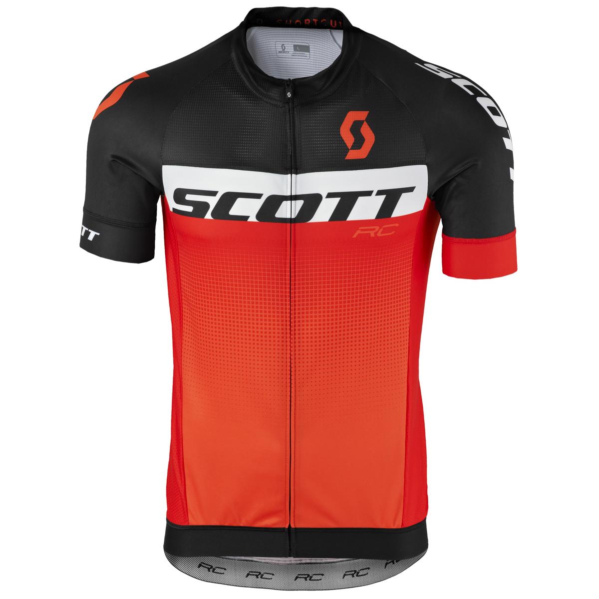 Scott RC Pro Fahrrad Trikot kurz schwarz/orange 2017   von Top ...