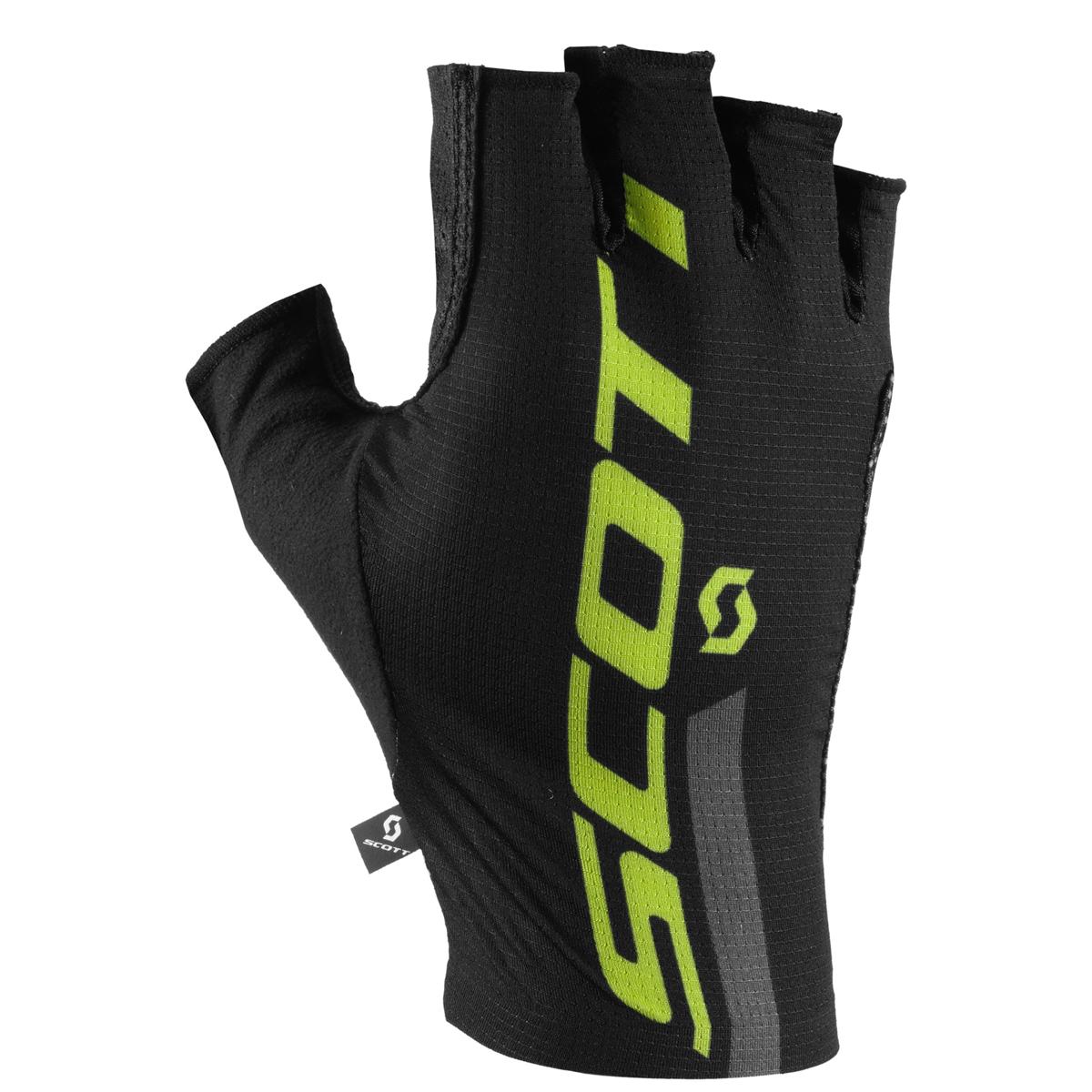 scott rc premium protec fahrrad handschuhe kurz schwarz. Black Bedroom Furniture Sets. Home Design Ideas