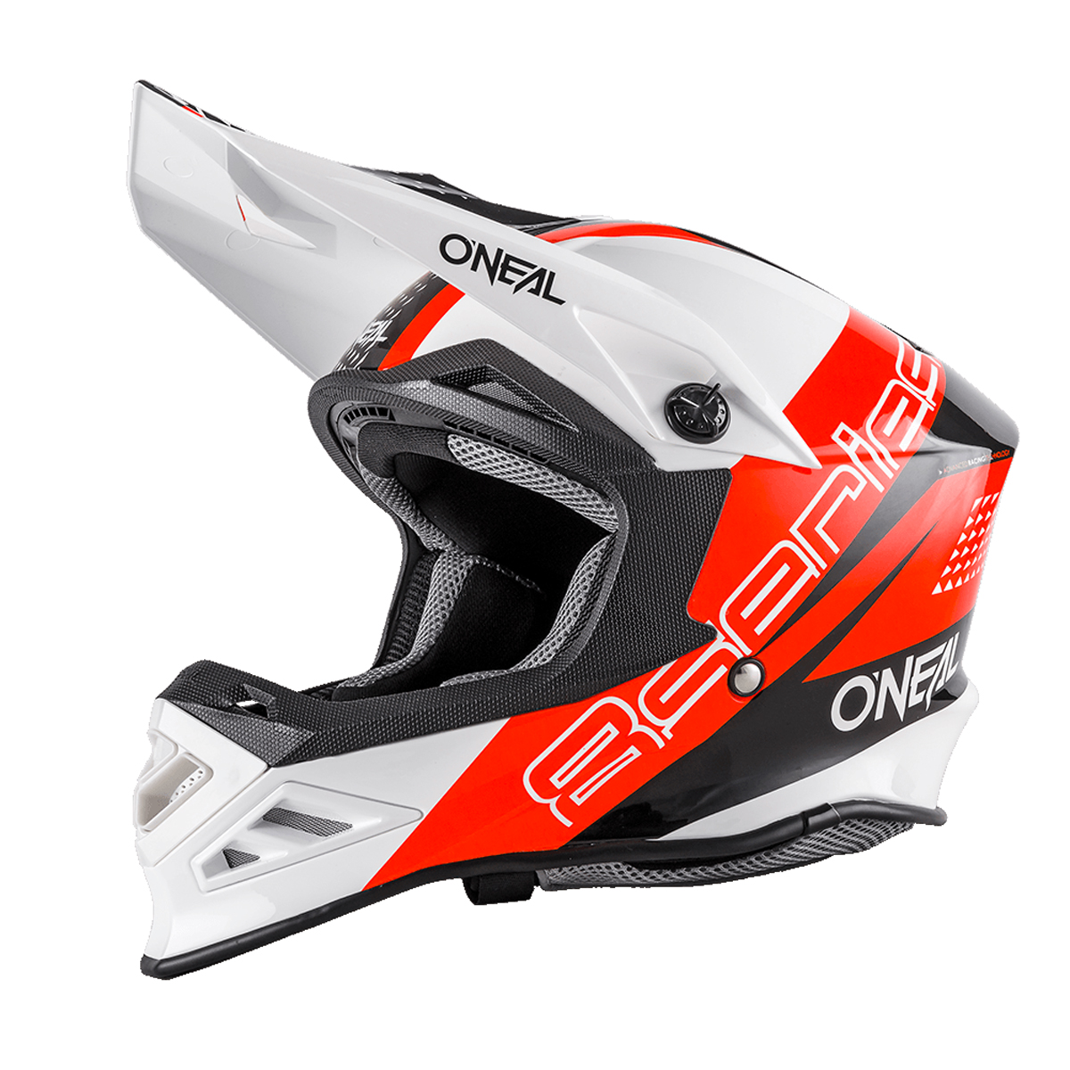 o 39 neal 8 series motocross enduro mtb helm nano rot schwarz. Black Bedroom Furniture Sets. Home Design Ideas