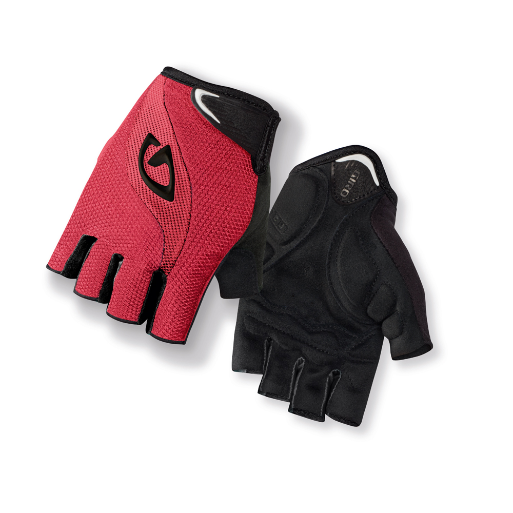 giro tessa damen fahrrad handschuhe kurz rot schwarz 2014. Black Bedroom Furniture Sets. Home Design Ideas