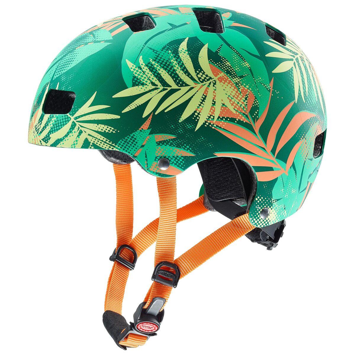 Uvex Kid 3 Cc Kinder Dirtbike Skate Fahrrad Helm Grun Orange 2019 Von Top Marken Online Kaufen We Cycle