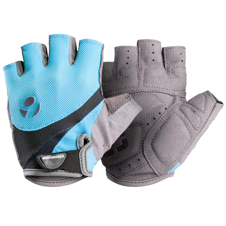 bontrager solstice damen fahrrad handschuhe kurz blau grau. Black Bedroom Furniture Sets. Home Design Ideas