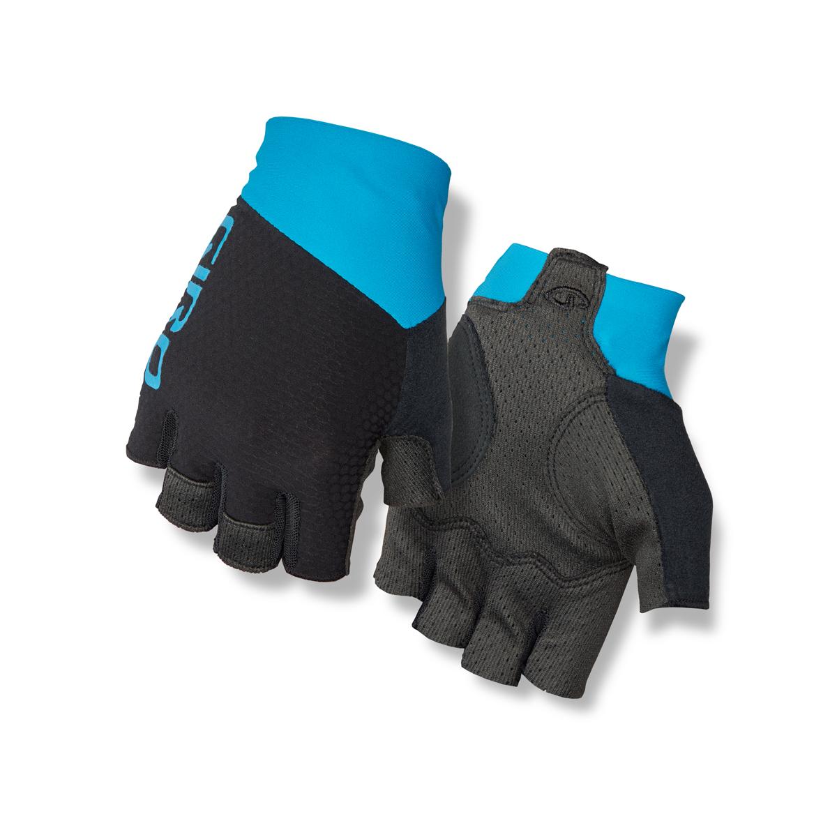 giro zero cs fahrrad handschuhe kurz schwarz blau 2018. Black Bedroom Furniture Sets. Home Design Ideas