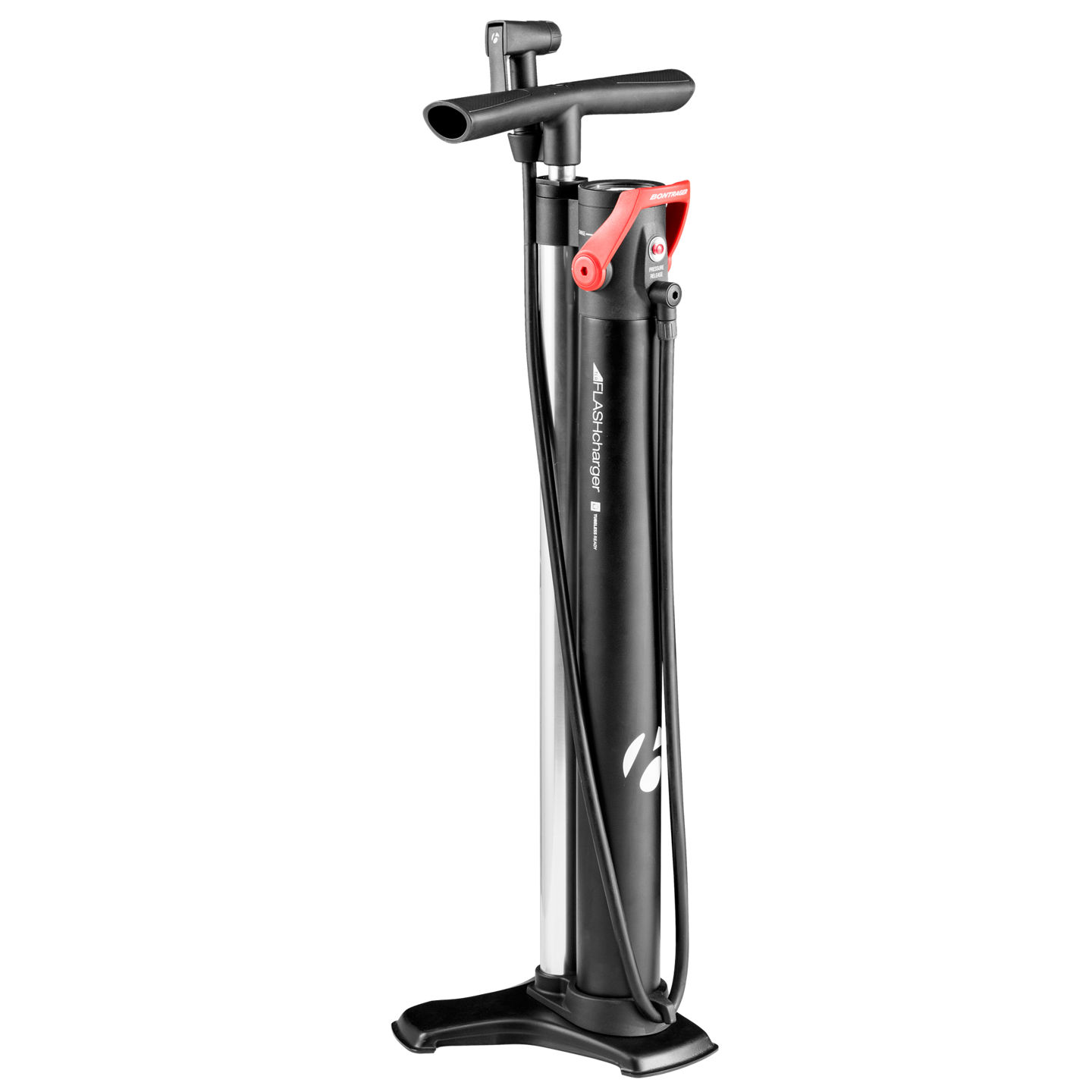 bontrager flash charger tubeless fahrrad standpumpe. Black Bedroom Furniture Sets. Home Design Ideas