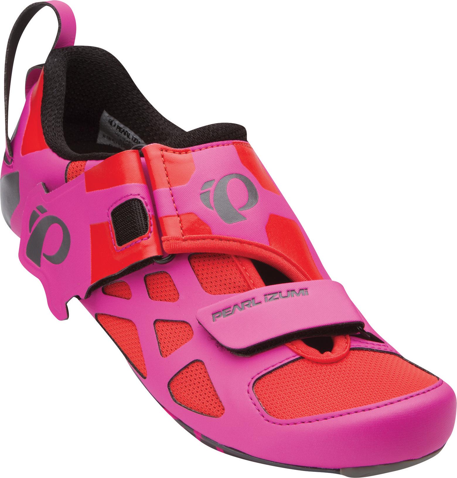 Schuhe Carbon Triathlon Pinkschwarz V Tri Damen Pearl Fly Izumi ZuPOkiX