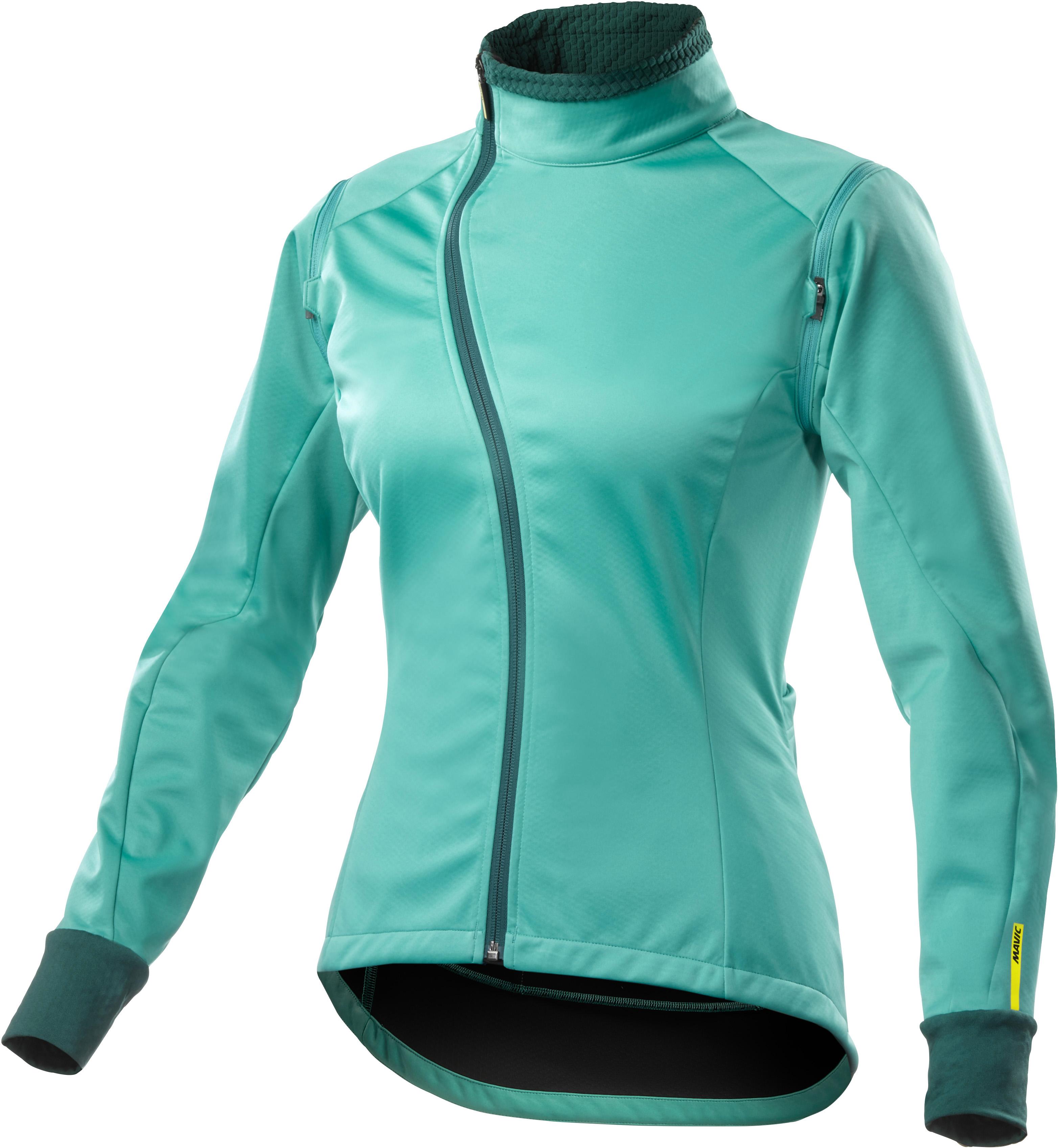 dauerhafte Modellierung online zum Verkauf Wählen Sie für späteste Mavic Aksium Convertible Damen Fahrrad Windjacke / Weste türkis 2017