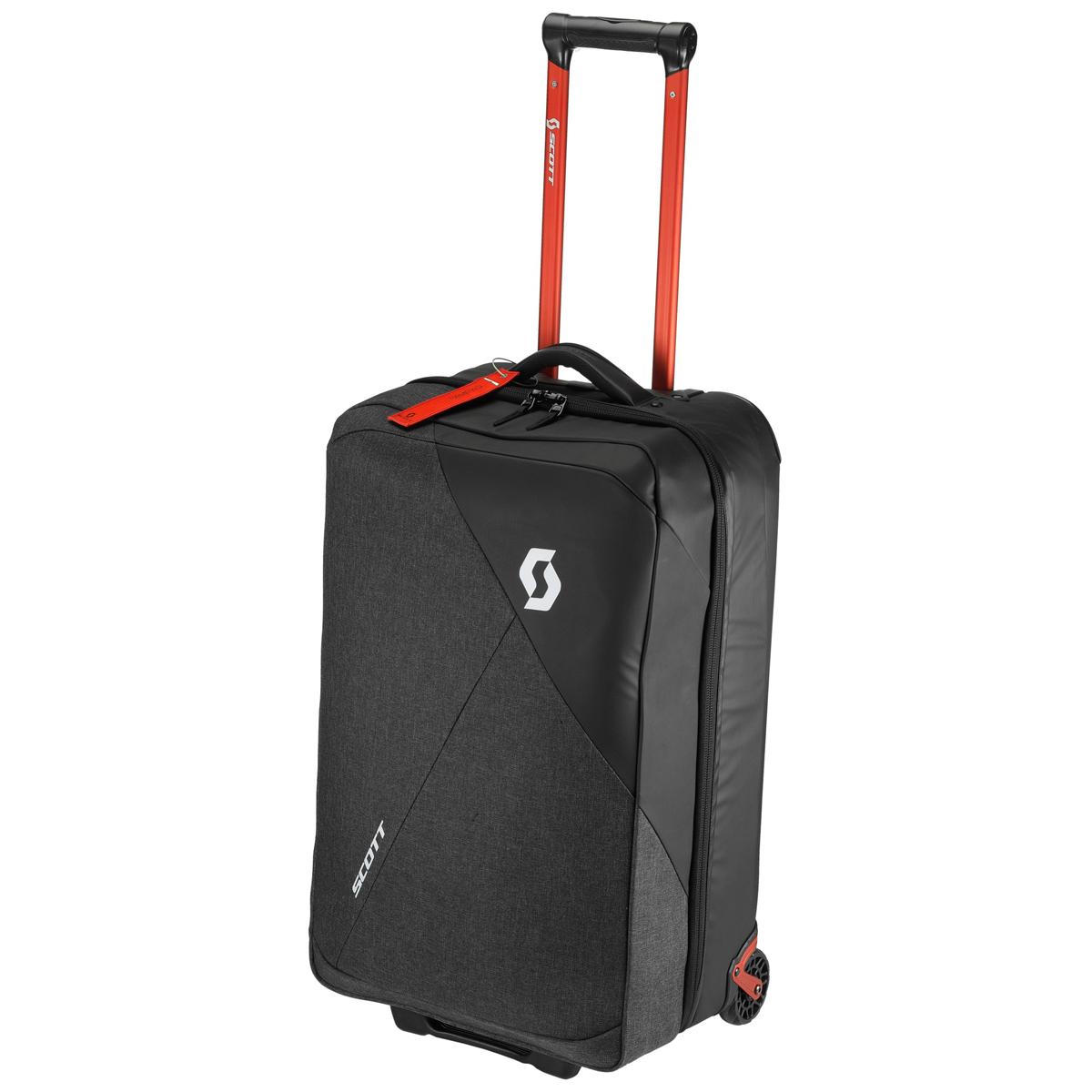 scott softcase 70 koffer trolley grau schwarz rot von. Black Bedroom Furniture Sets. Home Design Ideas