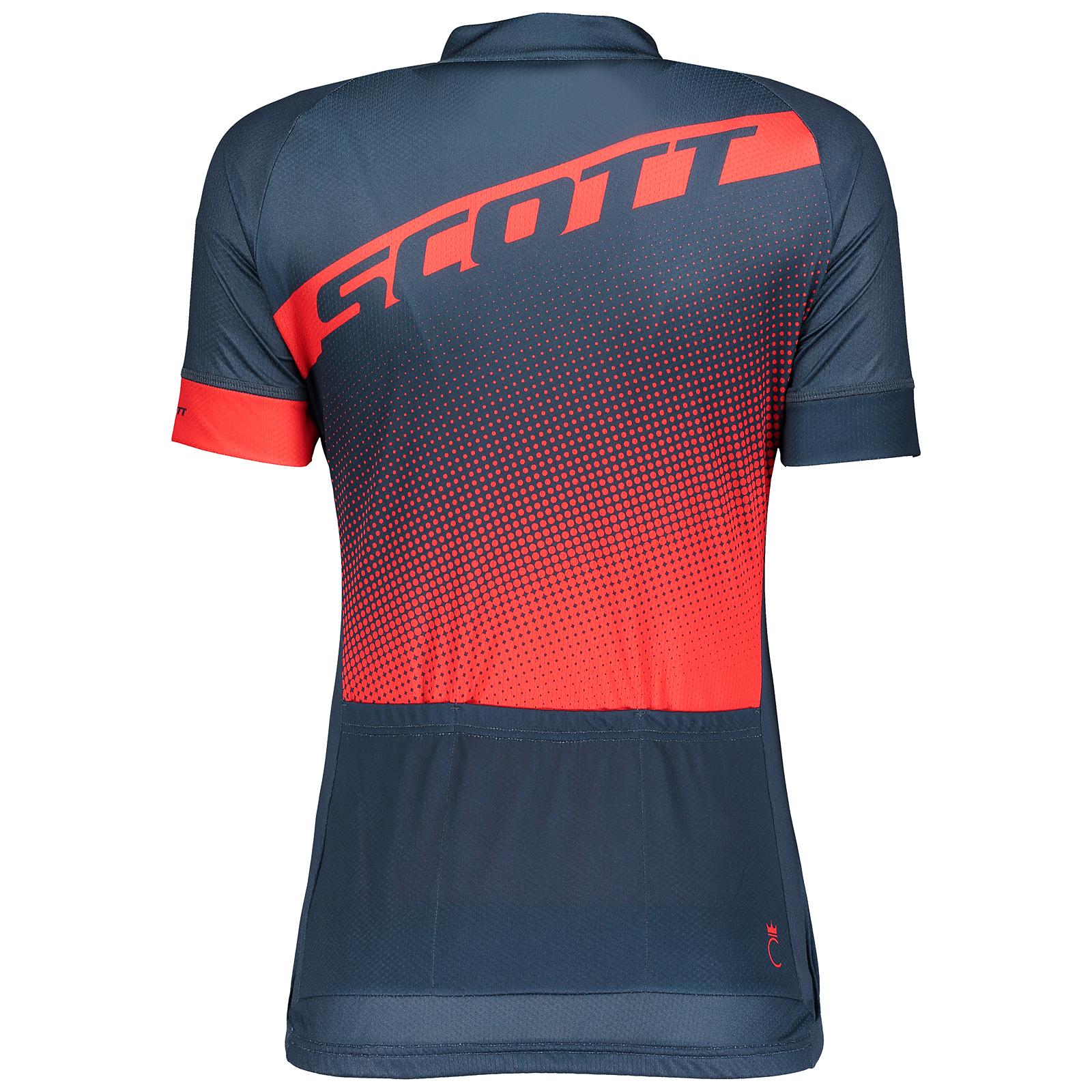 Scott Trail 30 Damen Fahrrad Trikot kurz rot//blau 2018