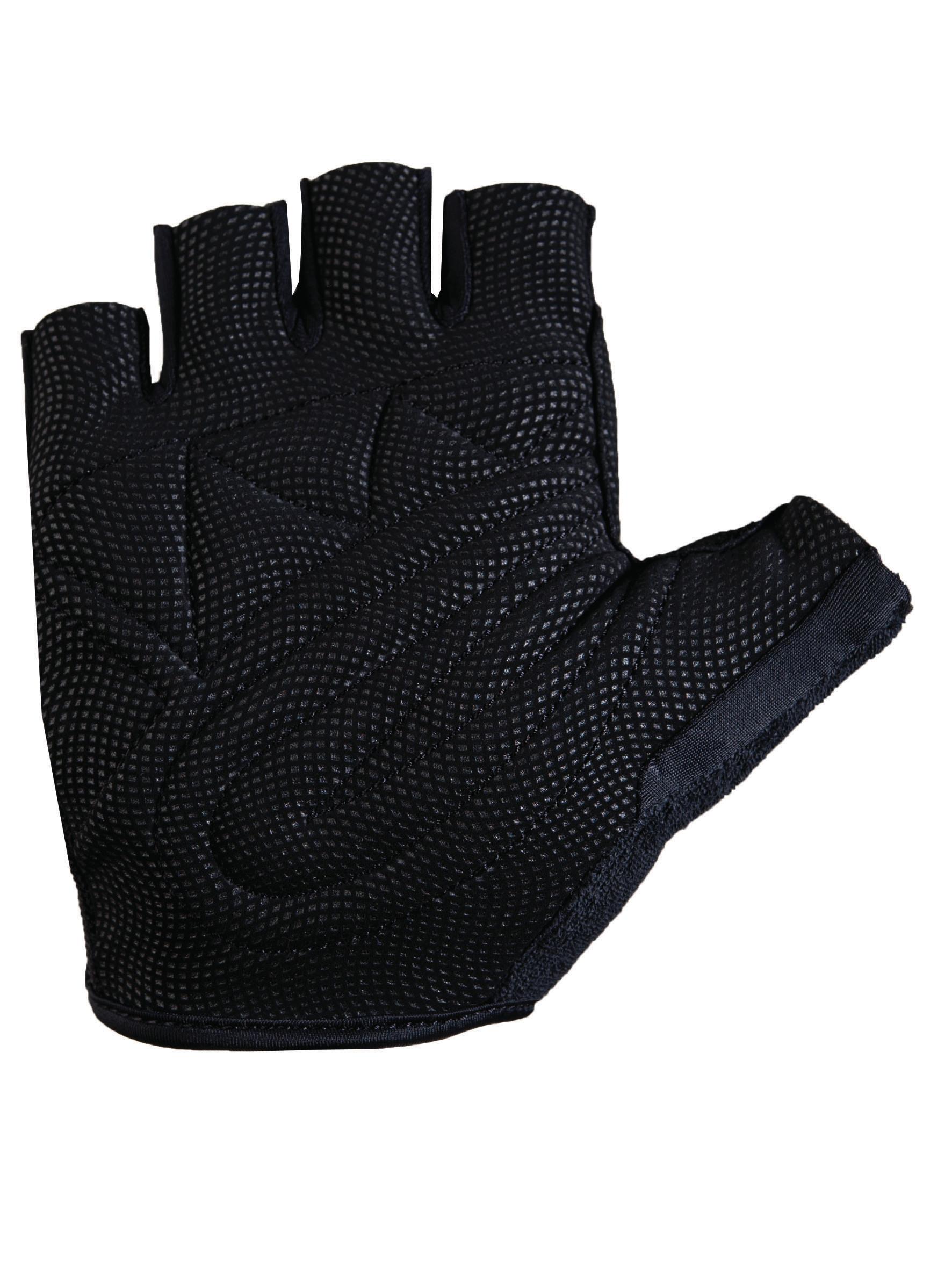 roeckl nelson fahrrad handschuhe kurz schwarz rot 2017. Black Bedroom Furniture Sets. Home Design Ideas