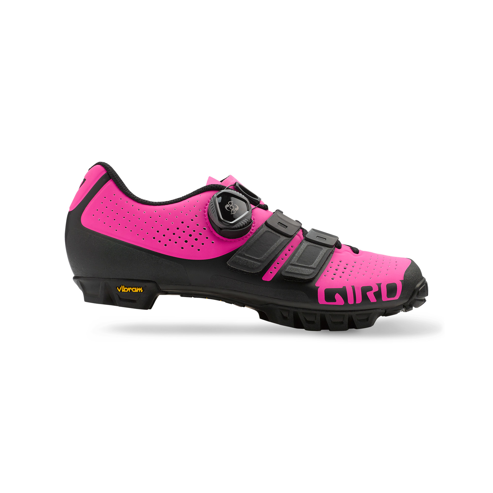 giro sica techlace damen mtb fahrrad schuhe schwarz pink 2018 von top marken online kaufen. Black Bedroom Furniture Sets. Home Design Ideas
