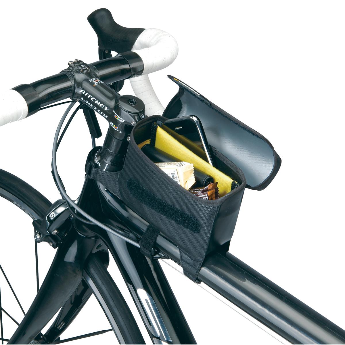 Topeak Tri Drybag Large Wasserdichte Fahrrad Oberrohrtasche Schwarz